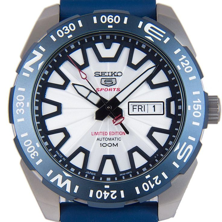 Chronograph-Divers.com - Seiko 5 Sports Automatic Mt Fuji Limited Edition Blue Urethane Strap Mens Watch SRP783J1 SRP783, $227.00 (https://www.chronograph-divers.com/seiko-5-sports-automatic-mt-fuji-limited-edition-blue-urethane-strap-mens-watch-srp783j1-srp783/)