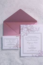 Floral προσκλητήρια γάμου