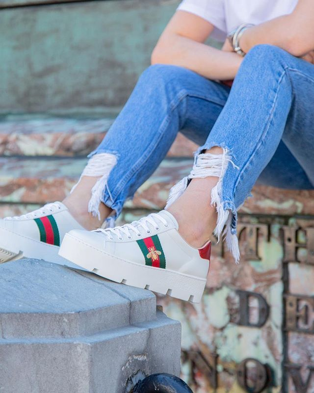 Platform sneakers, Gucci shoes, Sneakers