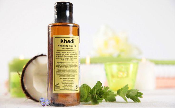 Recenzja: Khadi, olejek stymulujący wzrost włosów | Alter Ego | blog kosmetyczny