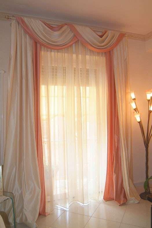 Tende per la casa: guida alla scelta - Tenda rosa