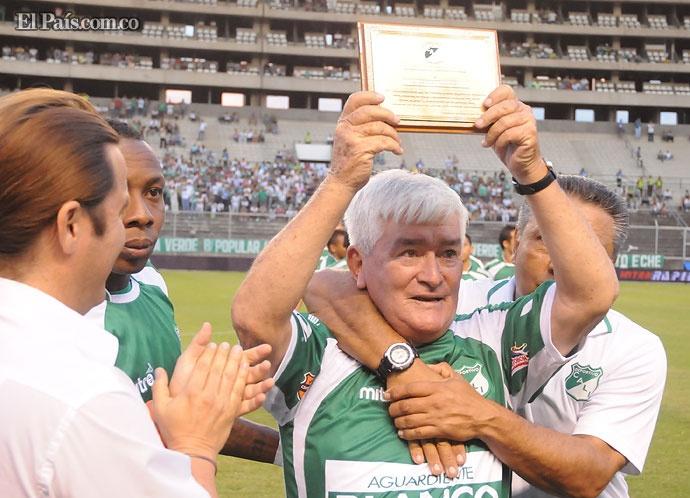 Mario 'Tranvía' Desiderio    El 'Tranvía', tras su retiro del fútbol activo, se radicó en Cali.