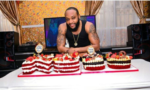 Singer Kcee Shows Off His Beautiful 38th Birthday Cake Photos