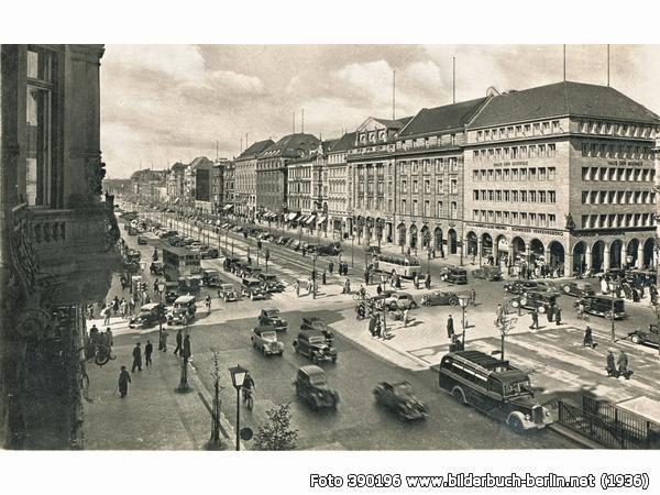 1936 Unter den Linden Ecke Friedrichstrasse