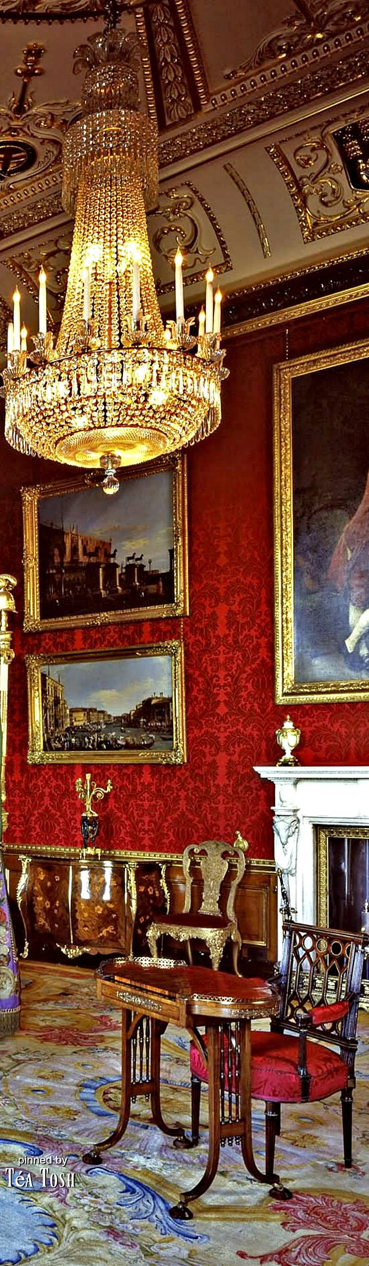 ❇Téa Tosh❇ Buckingham-Palace-Blue-Drawing-Room                                                                                                                                                                                 More