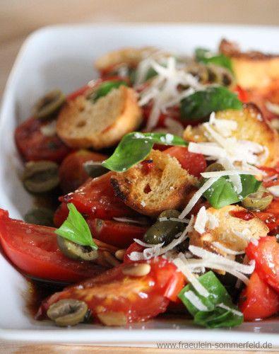 Tomaten-Brot-Salat www.fraeulein-sommerfeld.de