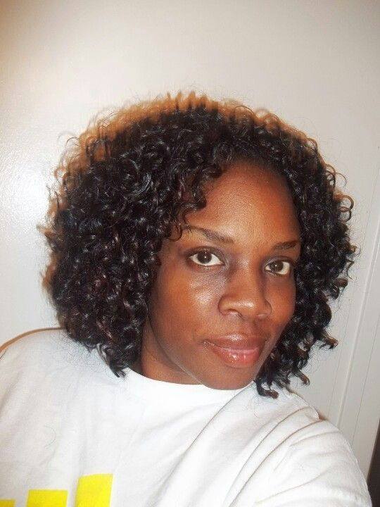 Latch hook weave aka crochet braids #wrightbraids Natural and ...