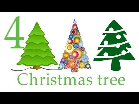 How To Draw A Christmas Tree, Learn how to #draw a pretty #Christmas tre...