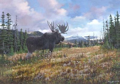"Newfoundland Art - Lloyd Pretty - ""The Challenger"""