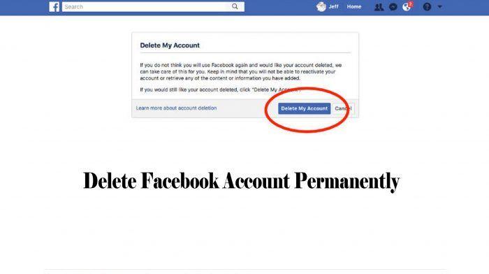 Delete Facebook Account Permanently Now Deactivate Facebook Account Trendebook Deactivate Facebook Delete Facebook Facebook Platform