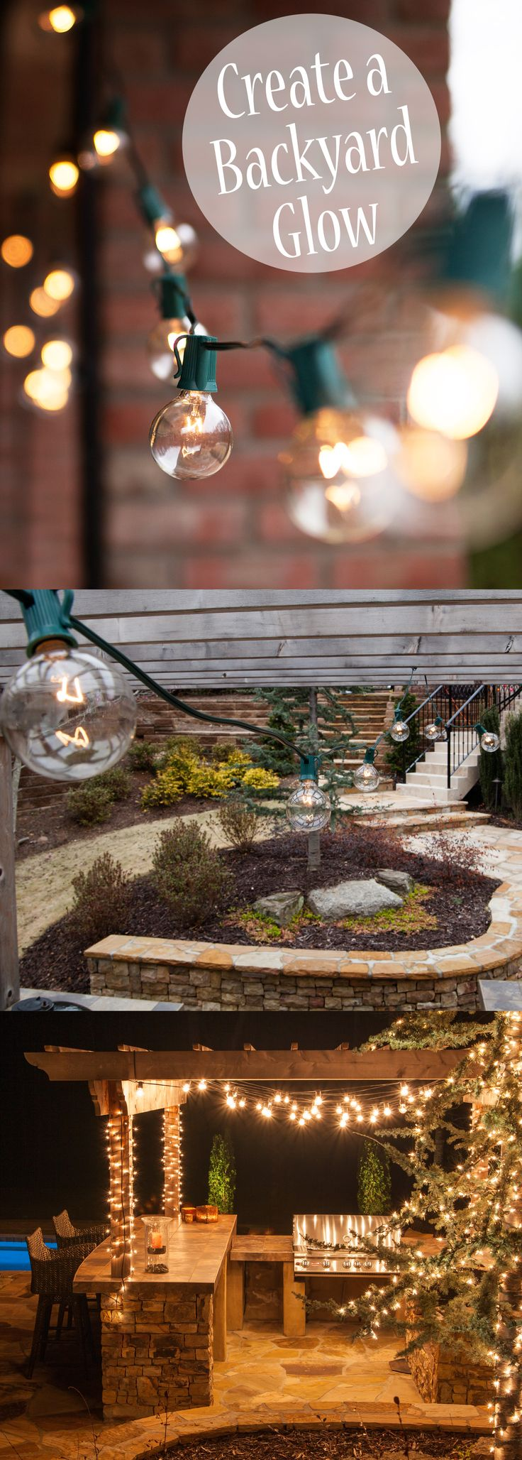 Garden String Lights Pinterest : 1000+ ideas about Patio String Lights on Pinterest String lights outdoor, String lighting and ...
