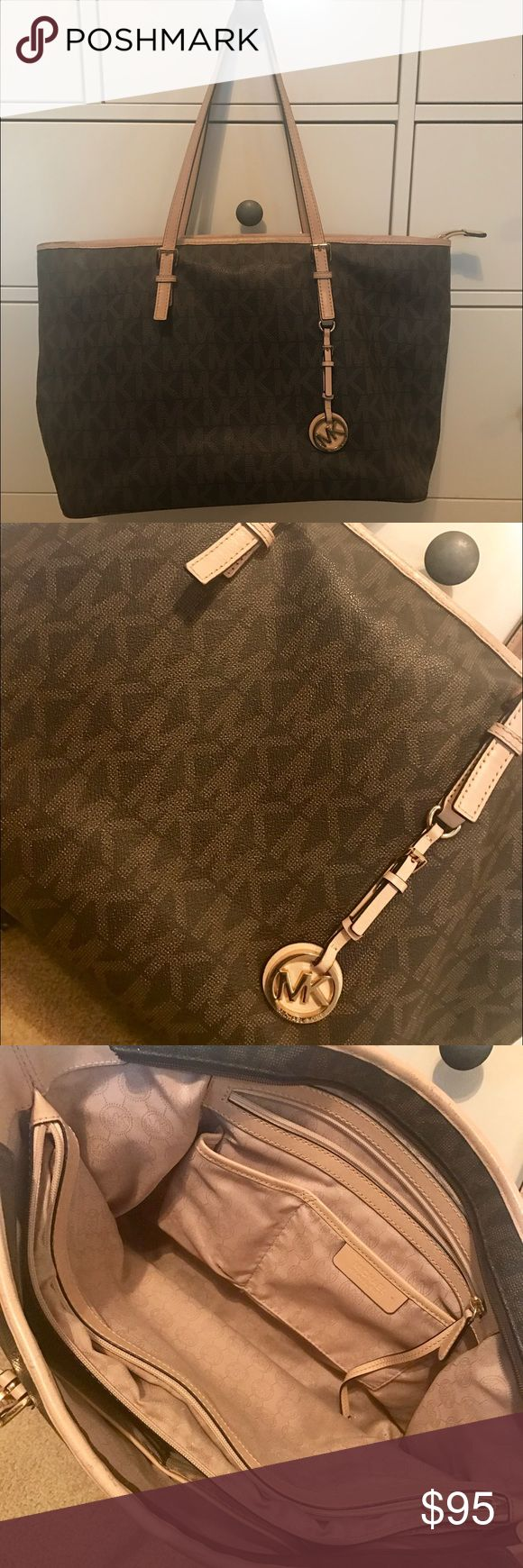 Michael Kors Handbag Authentic used Michael Kors purse, bought from actual Michael Kors Store not off-price retail store like TJ Maxx, etc. Michael Kors Bags Totes