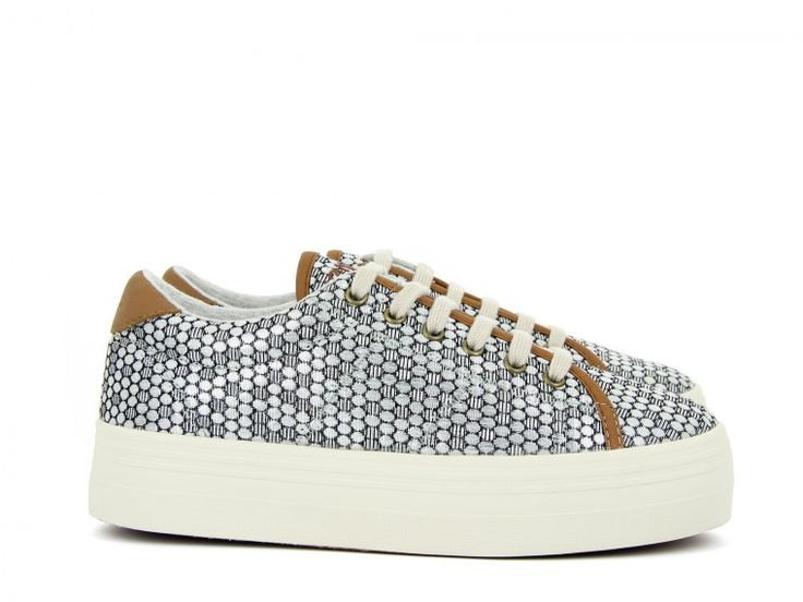 PLATO SNEAKER - SATELLITE - SILVER FOX DOVE