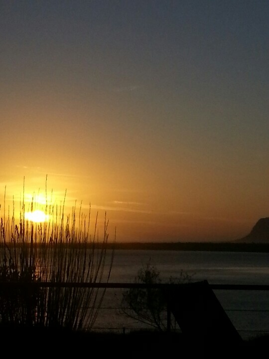 Sunset at Benguela Cove. Hermanus SA