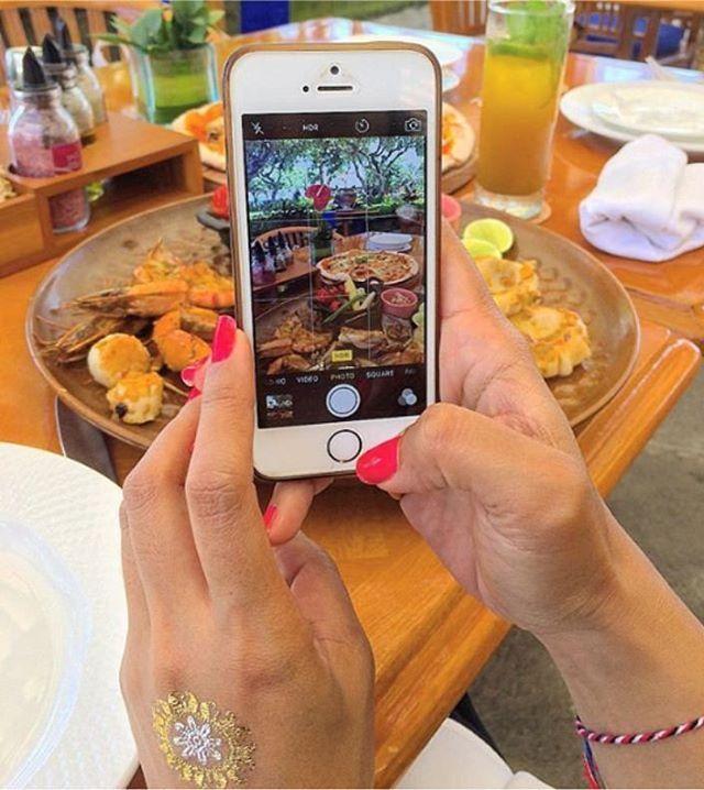 WEBSTA @ ayodyabali - Snap it before you'll eat it 😄 #lagoonarestaurant #foodism #instafood #delicious 📷 : @drg_nancyaryasubawa