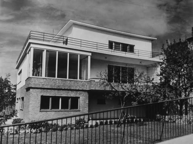 Budapest, villa, Hankóczy út, (Havas villa), 1931. / Kozma Lajos