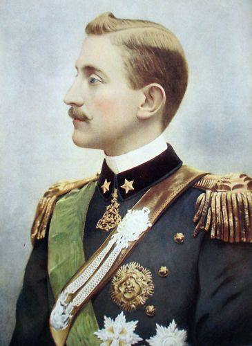 Prince Emanuele Filiberto of Savoy-Aosta, 2nd Duke of Aosta (13 January 1869 – 4 July 1931) was a member of the House of Savoy, Crown Prince of Spain from 1870 to 1873, and a cousin of Victor Emmanuel III of Italy.