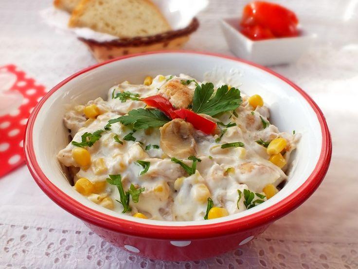 Süssünk, főzzünk valamit!: Csirkesaláta