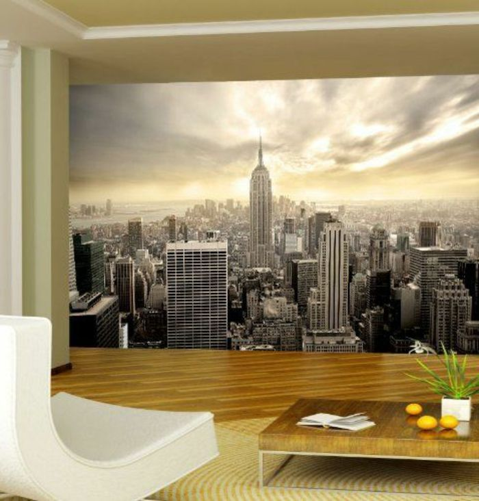 poster trompe l oeil mural cool papier peint trompe l oeil moulures grand poster mural en. Black Bedroom Furniture Sets. Home Design Ideas
