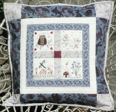 Lynette Andersons Forest friends pillow