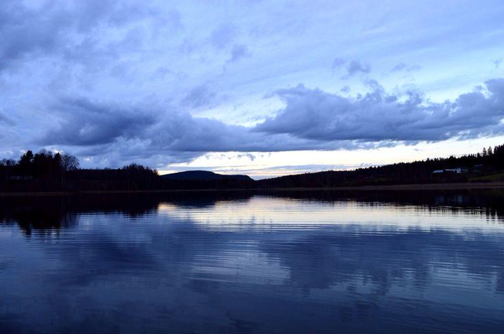 Fisketur på vår lilla sjö