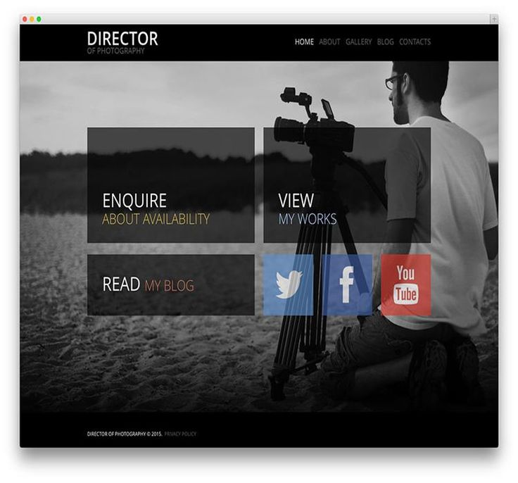 Best Photography Wordpress Themes Images On