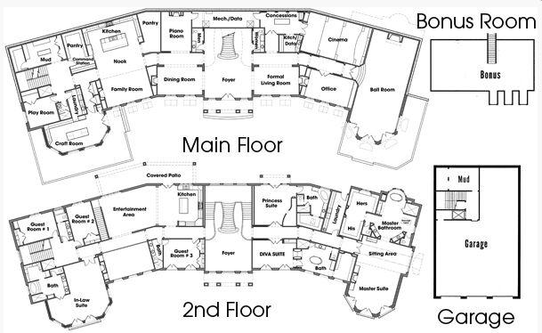 20 000 square foot newly built mega mansion in draper ut for Mini mansion house plans