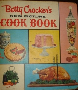 1961 Betty Crocker cookbook