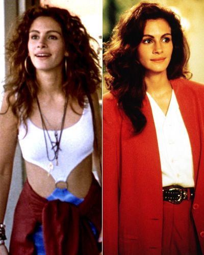 "Pretty Woman (1990). Loved the makeover scene in this movie.  Hollywood hooker Vivian Ward (Julia Roberts) goes from the Sunset Strip to Beverly Hills, stopping off on Rodeo Drive to shop for a more appropriate wardrobe. ""Stores are never kind to people,"" Edward (Richard Gere) tells her after she complains of being rebuffed by a snooty boutique employee. ""They're kind to credit cards."""