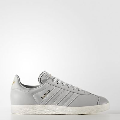 Adidas BY9355 Women Gazelle Running shoes grey gold sneakers