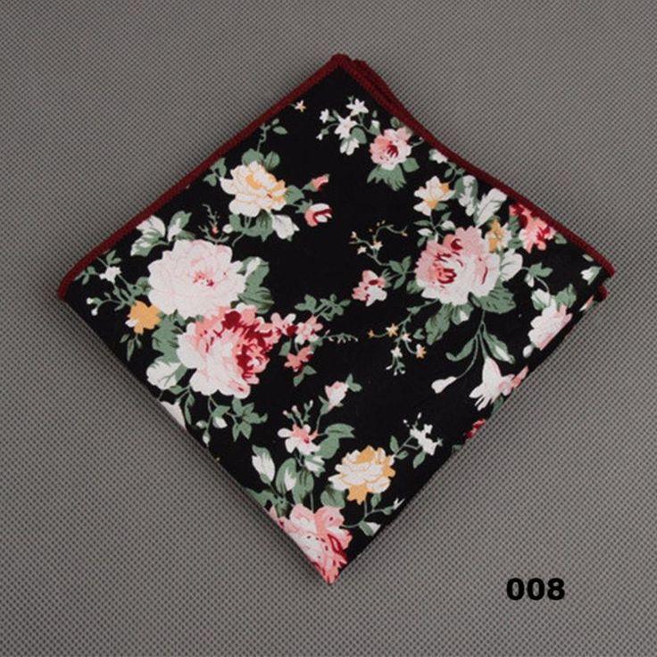 Floral Printed Handkerchief in 8 Patterns