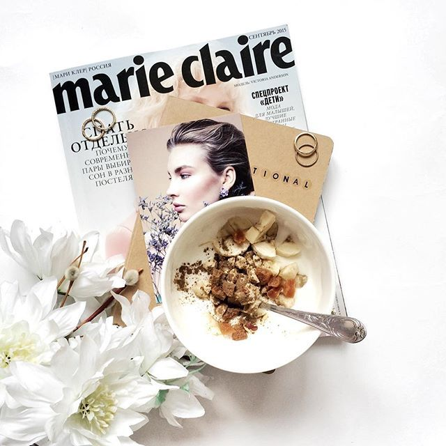 Flatlay | Magazines | Fashion Blogger | Instagram