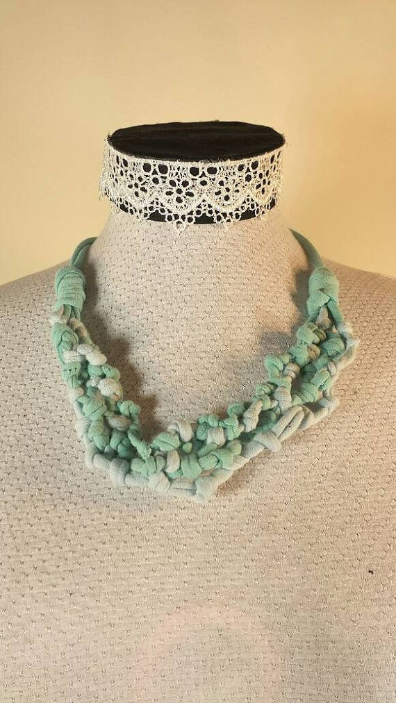 Check out this item in my Etsy shop https://www.etsy.com/ca/listing/273044196/knotted-bib-necklace-handmade-with