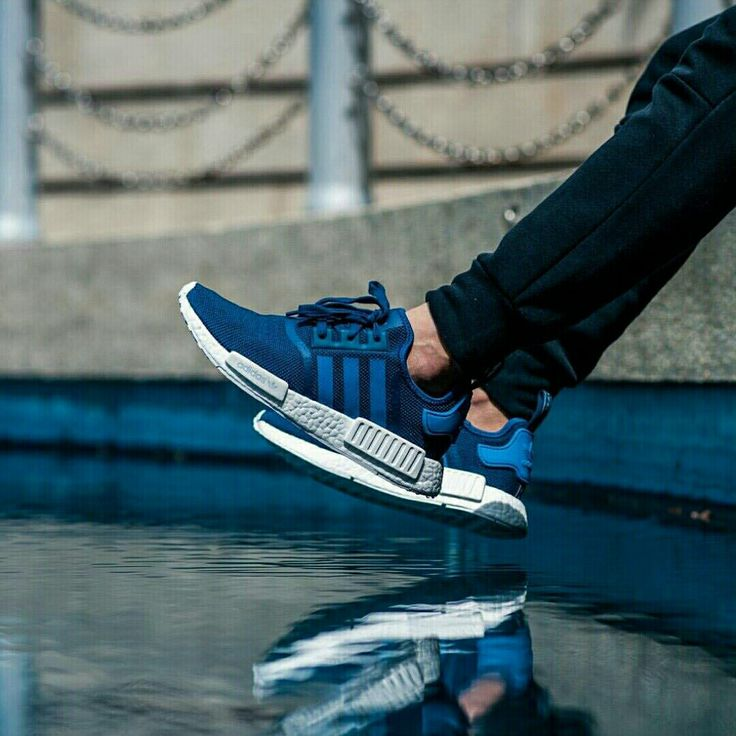 adidas nmds bianca and blue