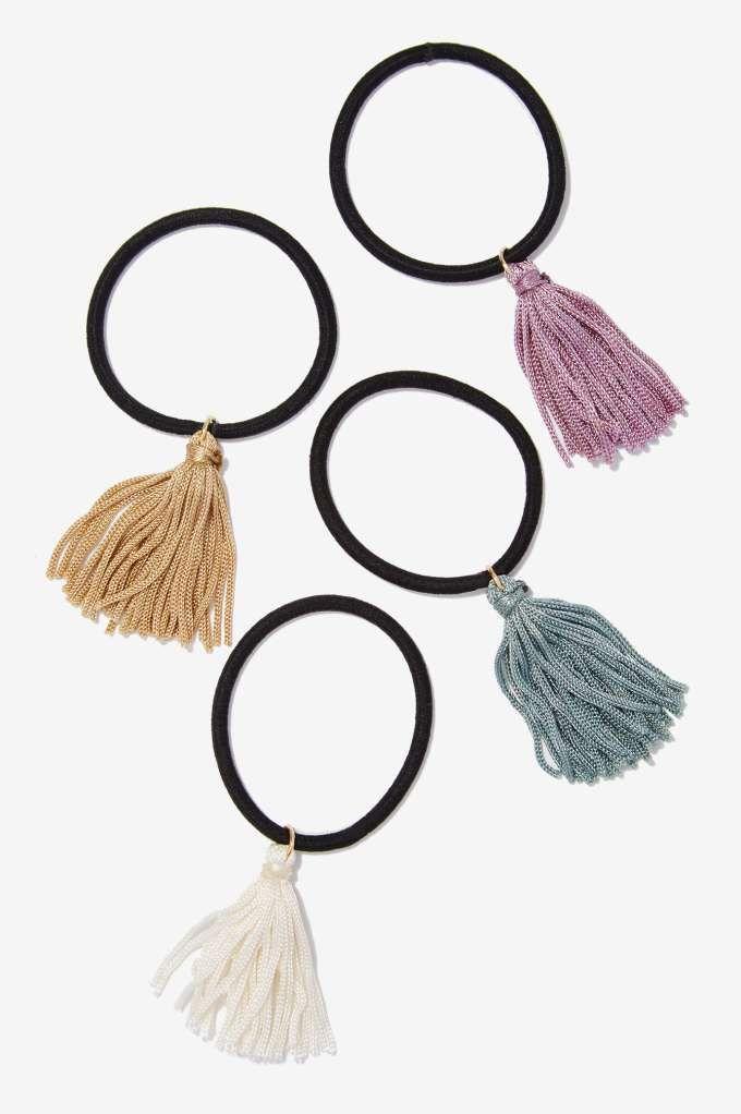 Veronica Tassel Hair Tie Set - Accessories | Hair + Hats | Accessories | All