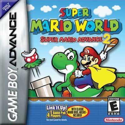 Super Mario World - Super Mario Advance 2 Nintendo Game Boy Advance GBA