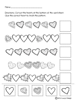 Free! Valentine Heart: Finish the pattern. Pinned by SOS Inc. Resources @sostherapy http://pinterest.com/sostherapy.