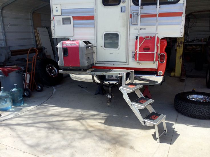Image Result For Hitch Mounted Cargo Stairs Bus Truck