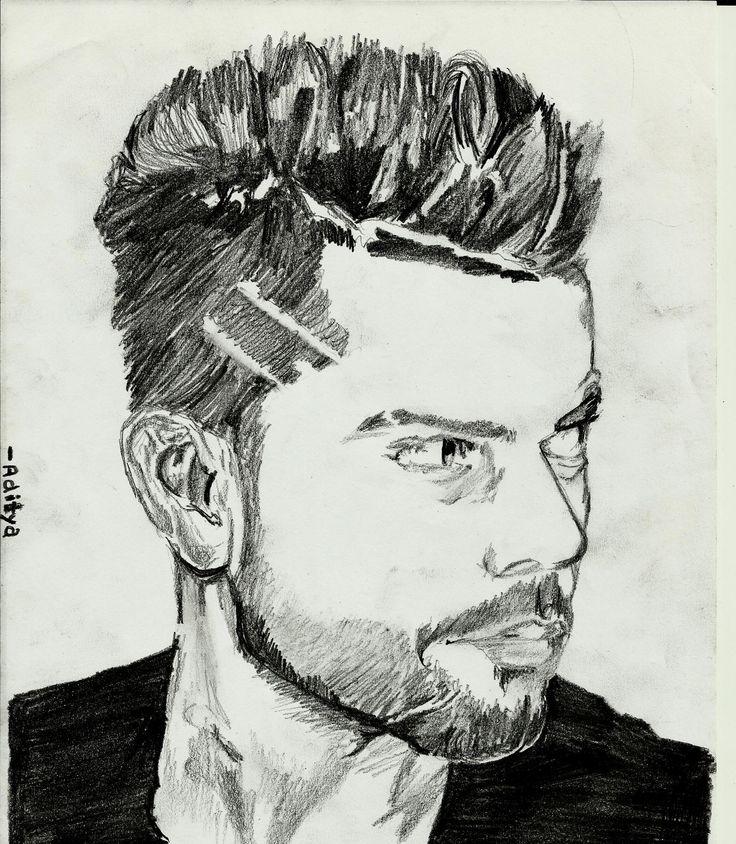 Virat Kohli a sketch made by me...