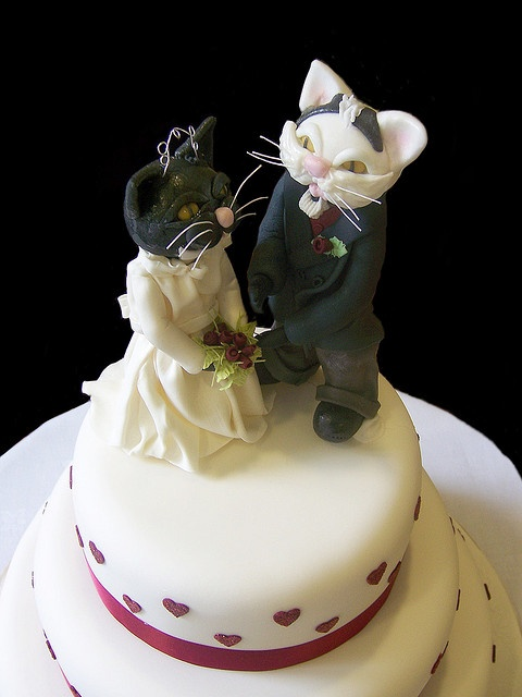#Cat wedding cake2  Like,Repin,Share, Thanks!