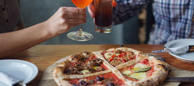 Thin Crust Wood-Fired Neapolitan Pizza, House Made Gelato and Sorbetto, Traditional Southern Italian Cuisine, Licensed