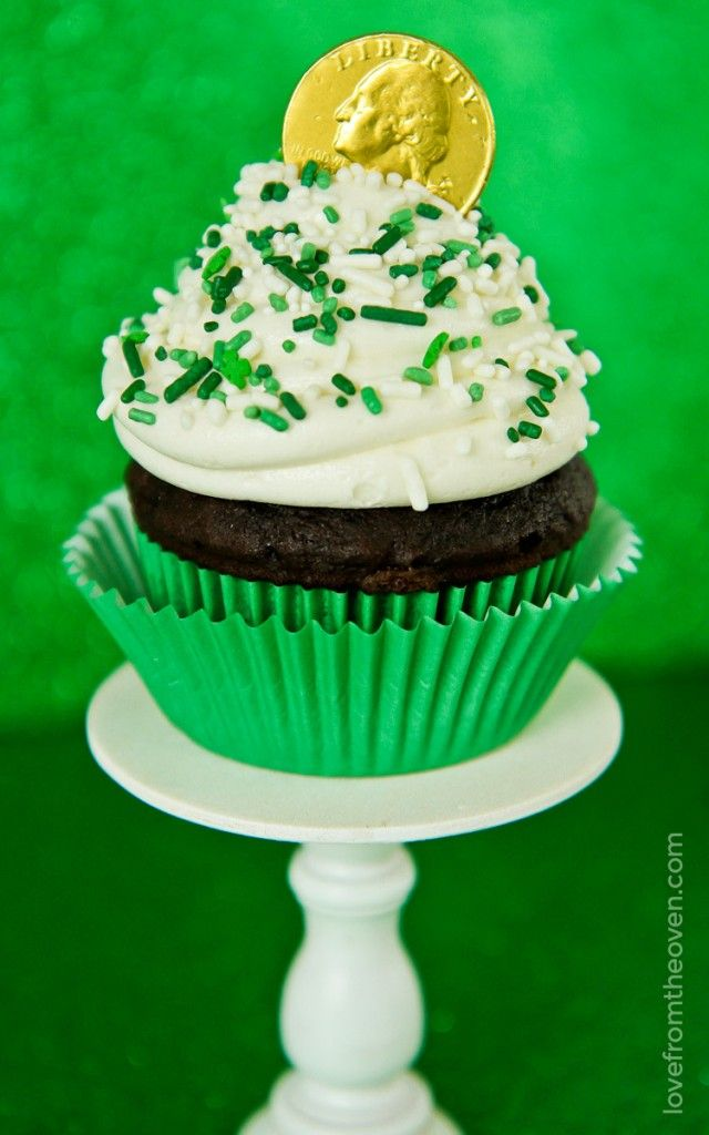 Cupcakes For St Patrick's Day