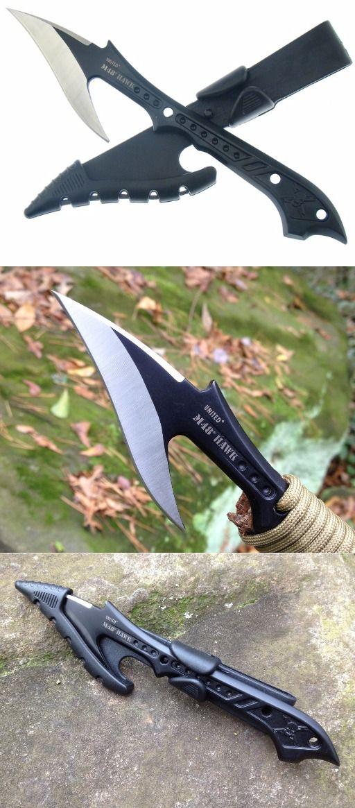 United Cutlery UC2971 M48 Hawk Harpoon Fixed Blade Knife with Sheath #fixedknife @aegisgears