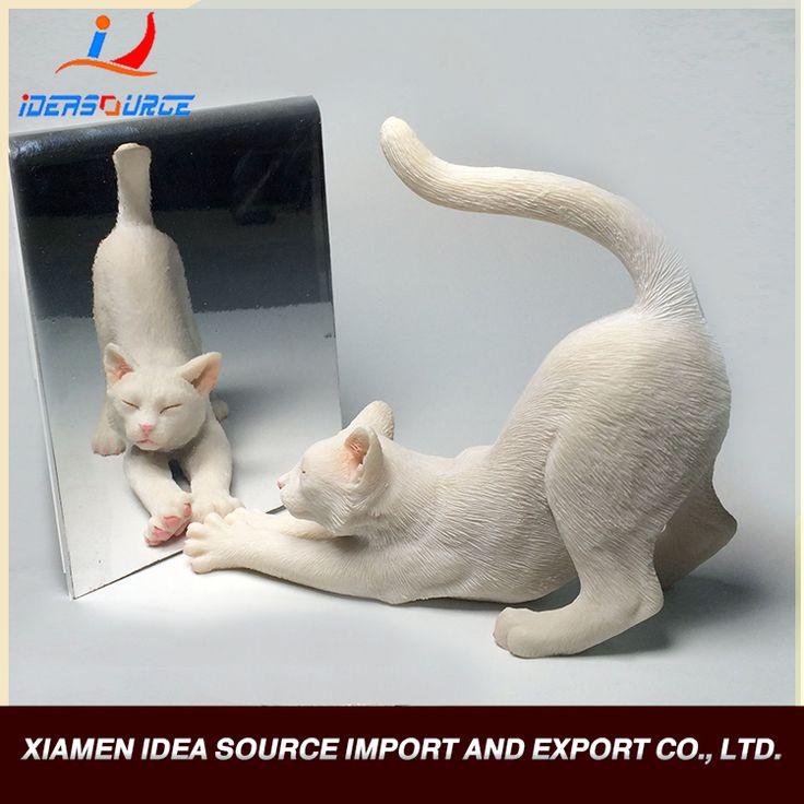Оптовая продажа белый кот, смола статуэтка кошки-изображение-Ремесла из смола-ID продукта:60383247546-russian.alibaba.com