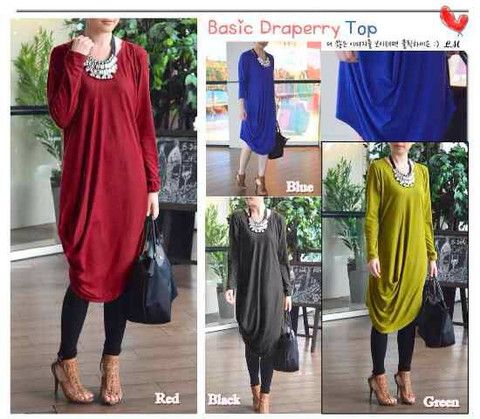 Basic Drappery Top – Exclusiv Hijab