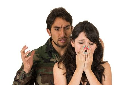 How do military divorces differ from civilian divorces?