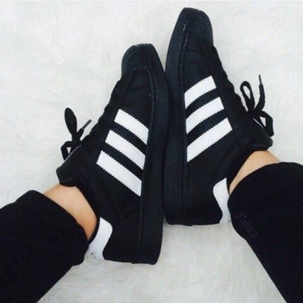 pinterest || ☽ @kellylovesosa ☾Adidas Men's Superstar Foundation Shoes @blackswanballet