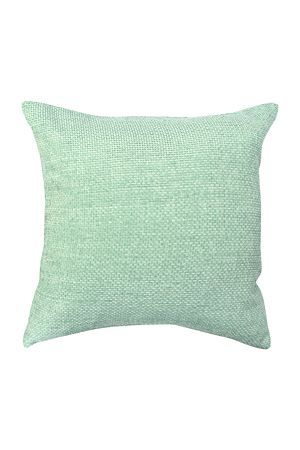 Our beautiful chenille scatter cushion is easily matched with any decorating style and will add texture to a modern living room.#mrphome#mint#seafoam #scatter#cushion