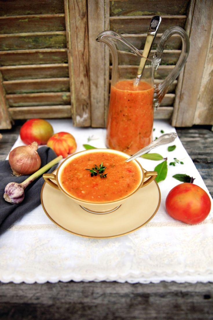 Sund Tomatsuppe - Måske Verdens Bedste Tomatsuppe – MadforLivet.com