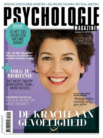 Haal meer uit je gevoeligheid - Psychologie Magazine - Blendle